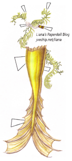 Golden-mermaid-tail-green-seaweed-tabbed
